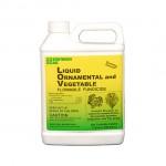 LIQUID ORNAMENTAL & VEGETABLE FUNGICIDE contains DACONIL®