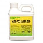 MALATHION – OIL CITRUS & ORNAMENTAL SPRAY NOW FORMULATED WITH PARAFINE OIL
