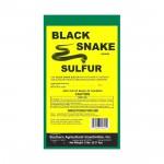 BLACK SNAKE SULFUR